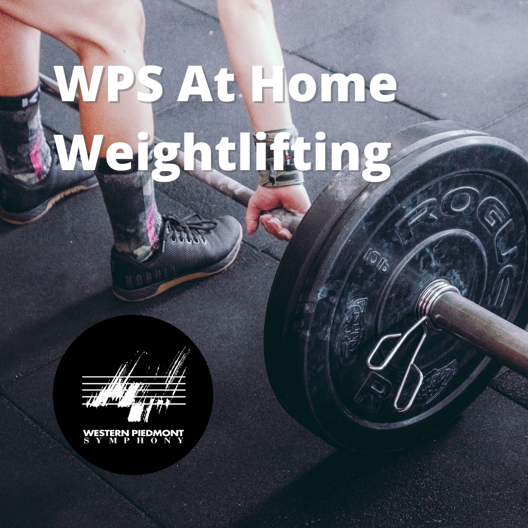 At Home weights Social Media Graphic